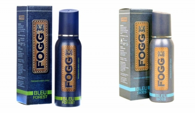 Fogg Bleu Forest & Bleu Skies Body Spray For Men -120 Ml Each