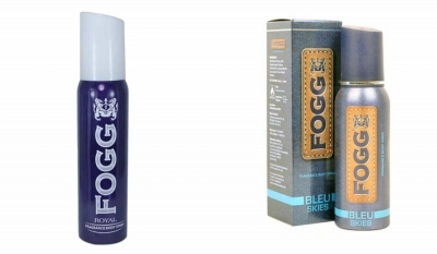 Fogg Royal  & Bleu Skies Body Spray For Men -120 Ml Each