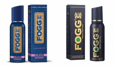 Fogg  Bleu Spring & Fresh Oriental Body Spray For Men -120 Ml Each