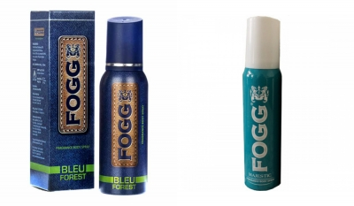 Fogg Bleu Forest & Majestic Body Spray For Men -120 Ml Each