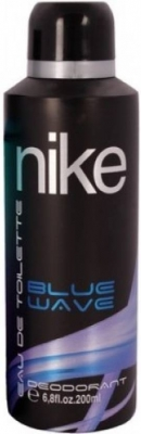 Nike Blue Wave Perfume Body Spray - For Boys, Men (200 ml)