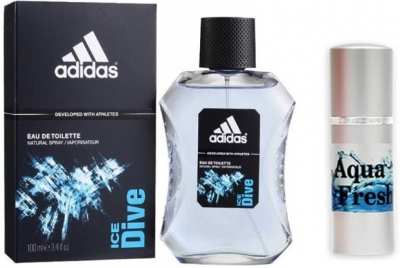 Adidas Ice Dive Perfume And Aqua Fresh Combo Set (Set of 2)