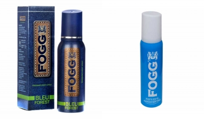 Fogg Bleu Forest & Imperial Body Spray For Men -120 Ml Each
