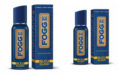 Fogg Bleu Island Body Spray For Men -120 Ml Each