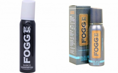 Fogg Marco & Bleu Skies Body Spray For Men -120 Ml Each