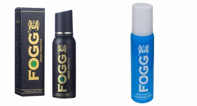 Fogg Fresh Oriental Black Series & Imperial Body Spray For Men -120 Ml Each
