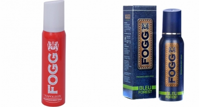 Fogg Napoleon & Bleu Forest Body Spray For Men -120 Ml Each