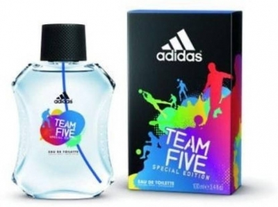 Adidas Team Five EDT - 100 ml (For Men)