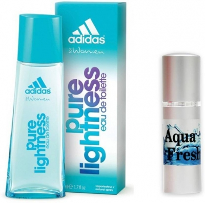 Adidas Pure LightNess Perfume And Aqua Fresh Combo Set (Set of 2)