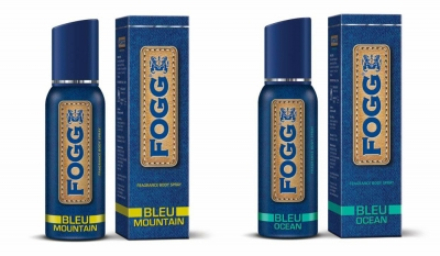 Fogg Bleu Mountain & Bleu Ocean Body Spray For Men -120 Ml Each