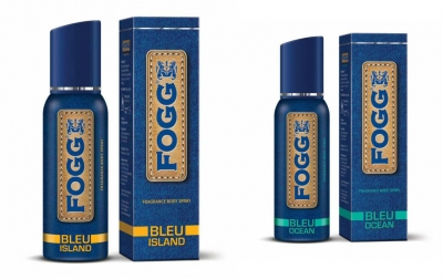 Fogg Bleu Island  & Bleu Ocean Body Spray For Men -120 Ml Each