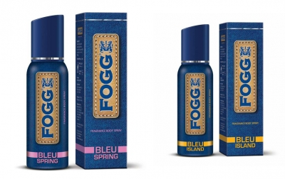 Fogg  Bleu Spring & Bleu Island Body Spray For Men -120 Ml Each