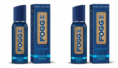 Fogg Bleu Skies Body Spray For Men -120 Ml Each
