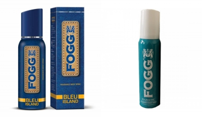 Fogg Bleu Island & Majestic Body Spray For Men -120 Ml Each