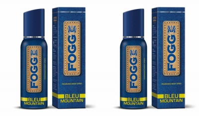 Fogg Bleu Mountain Body Spray For Men -120 Ml Each