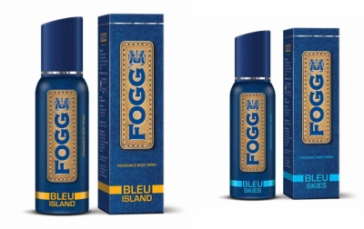 Fogg Bleu Island & Bleu Skies Body Spray For Men -120 Ml Each
