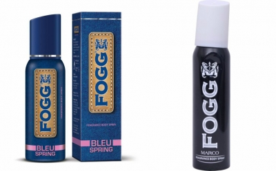 Fogg  Bleu Spring & Marco  Body Spray For Men -120 Ml Each