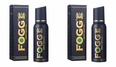 Fogg Fresh Oriental Black SeriesBody Spray For Men -120 Ml Each