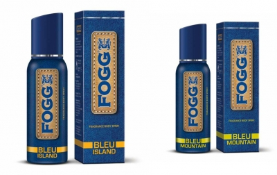 Fogg Bleu Island & Bleu Mountain Body Spray For Men -120 Ml Each
