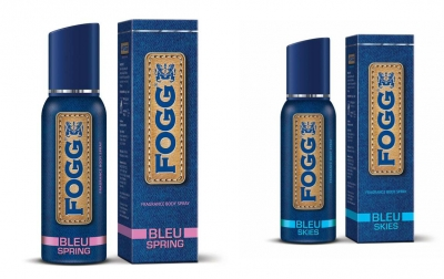 Fogg  Bleu Spring & Bleu Skies  Body Spray For Men -120 Ml Each