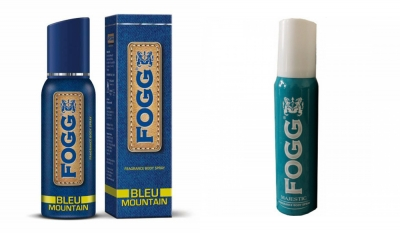 Fogg Bleu Mountain & Majestic Body Spray For Men -120 Ml Each