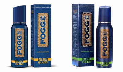 Fogg Bleu Island & Bleu Forest Body Spray For Men -120 Ml Each