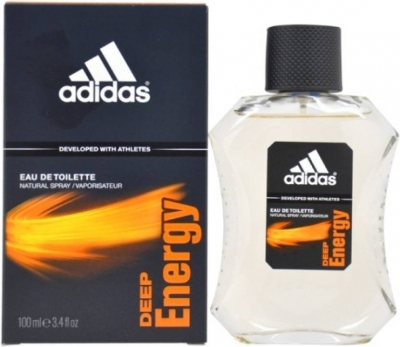 Adidas Deep Energy EDT - 100 ml (For Men)