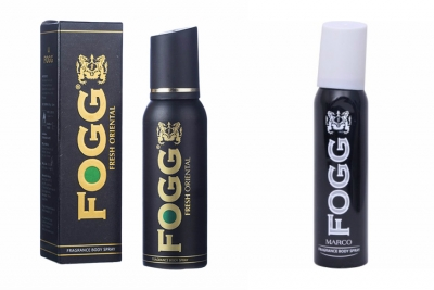 Fogg Fresh Oriental Black Series & Marco Body Spray For Men -120 Ml Each