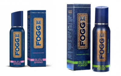 Fogg  Bleu Spring & Bleu Forest  Body Spray For Men -120 Ml Each