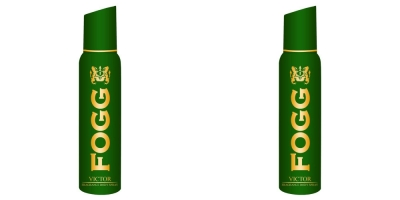 Fogg Combo of 2 Victor Body Spray For Men -120 Ml Each