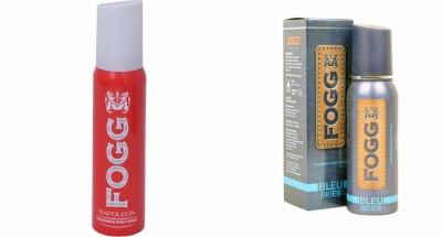 Fogg Napoleon & Bleu Skies Body Spray For Men -120 Ml Each