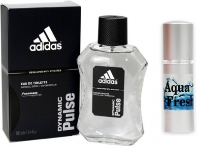 Adidas Dynamic Pulse Perfume And Aqua Fresh Combo Set (Set of 2)