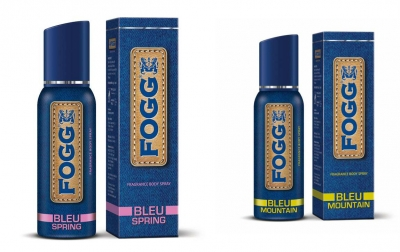 Fogg  Bleu Spring & Bleu Mountain  Body Spray For Men -120 Ml Each